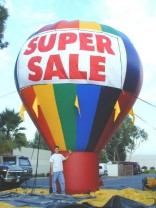 Advertising Balloons, Roof Top Balloons | Florida Ad Balloons