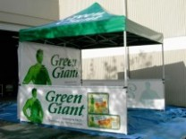 Ez Up Pop Up Advertising Tents | Florida Ad Balloons