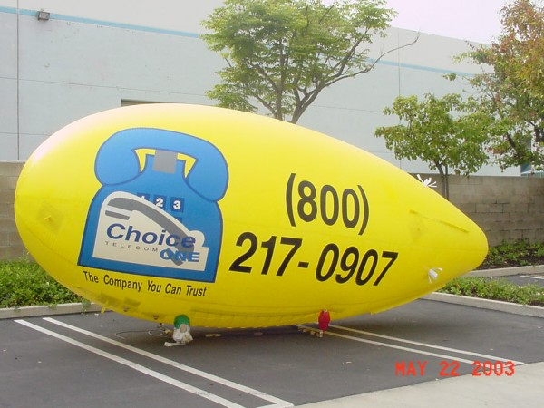 Yellow Blimp