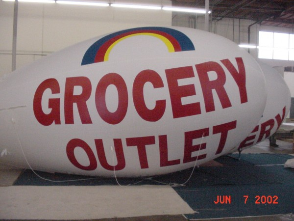 Promotional Grocery Blimp