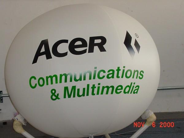 Advertising Balls