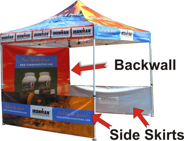 Ez Up Canopy 10x20 >> Ez Up Pop Up Advertising Tents   Florida Ad Balloons