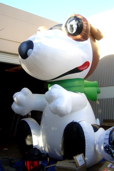 Snoopy Dog Inflatable