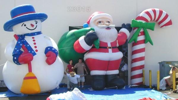 Chiristmas Inflatables