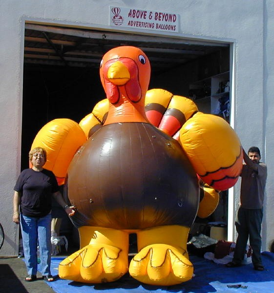 Inflatable Turkey