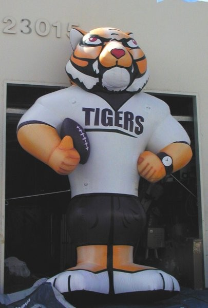 Tiger Mascot Inflatable