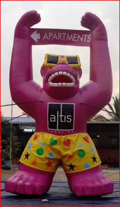 Gorilla Inflatable